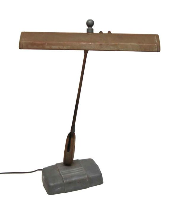 Desk Lamps - Vintage Adjustable Florescent Desk Lamp