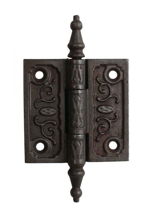 Door Hinges - 2.5 x 2.5 Victorian Cast Iron Butt Door Hinge