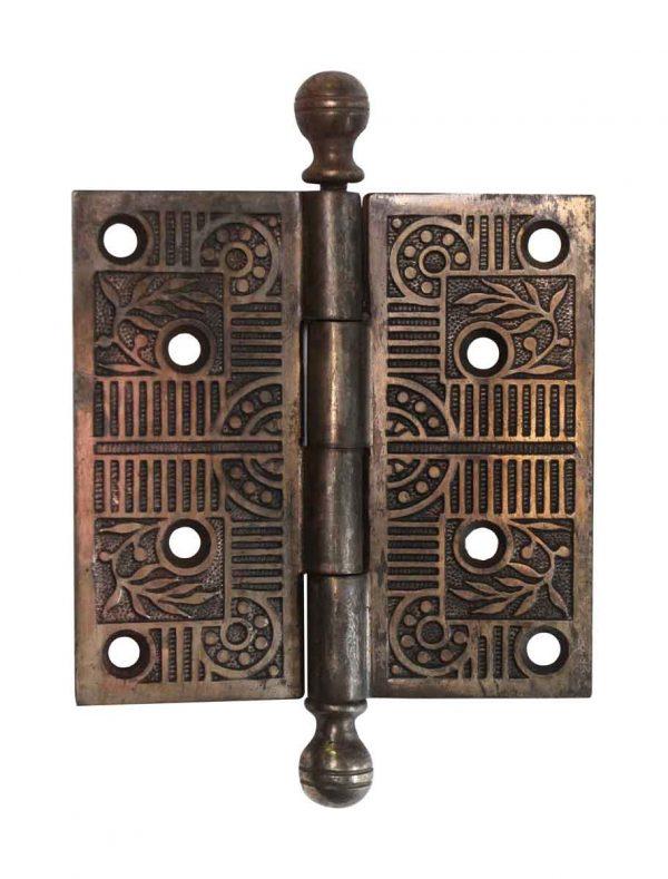 Door Hinges - Aesthetic Steel 4.5 x 4.5 Ball Tip Butt Door Hinge