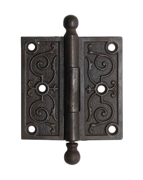 Door Hinges - Ball Tip 3.5 x 3.5 Cast Iron Butt Door Hinge