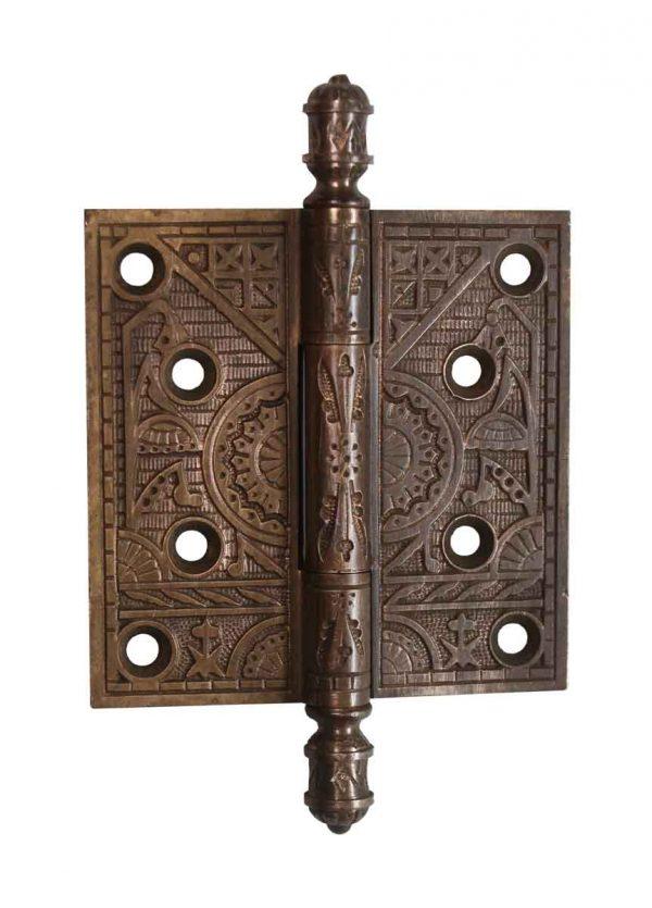 Door Hinges - Brass 4 x 4 Aesthetic Butt Door Hinge