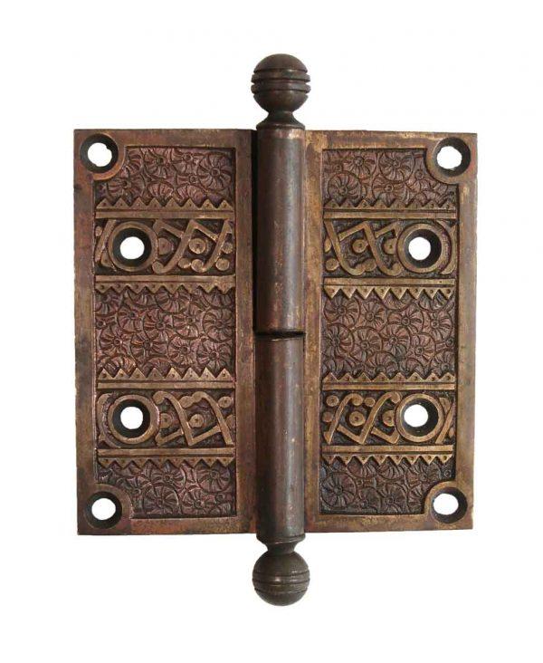 Door Hinges - Brass Aesthetic 4 x 4 Ball Tip Butt Door Hinge