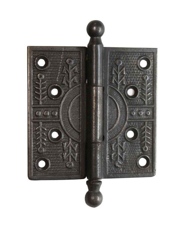 Door Hinges - Cast Iron Aesthetic 4 x 4 Ball Tip Butt Hinge