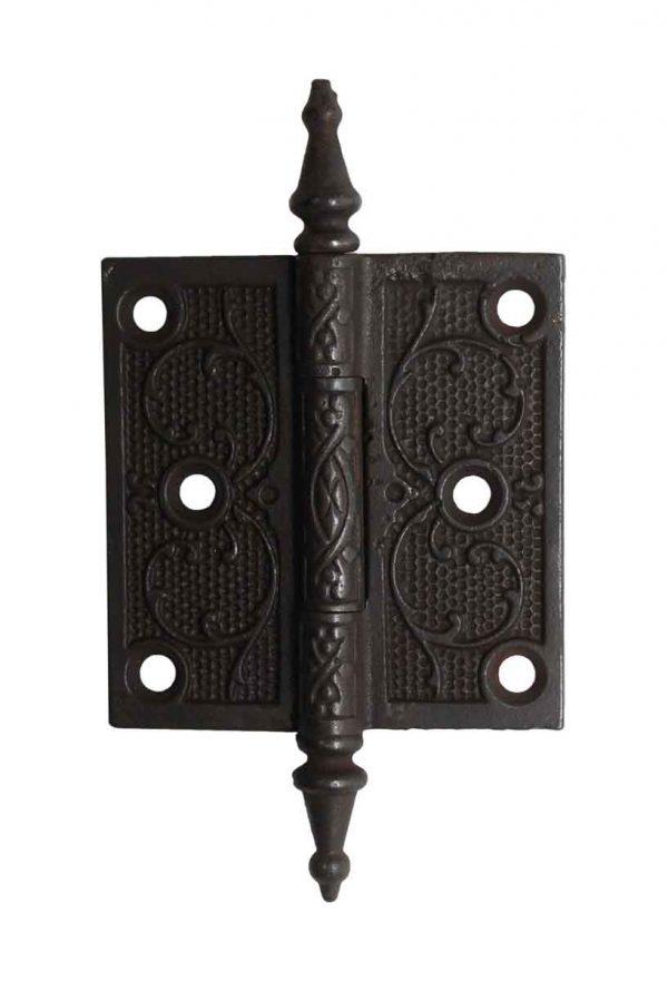 Door Hinges - Steeple Tip 3.5 x 3.5 Cast Iron Butt Door Hinge