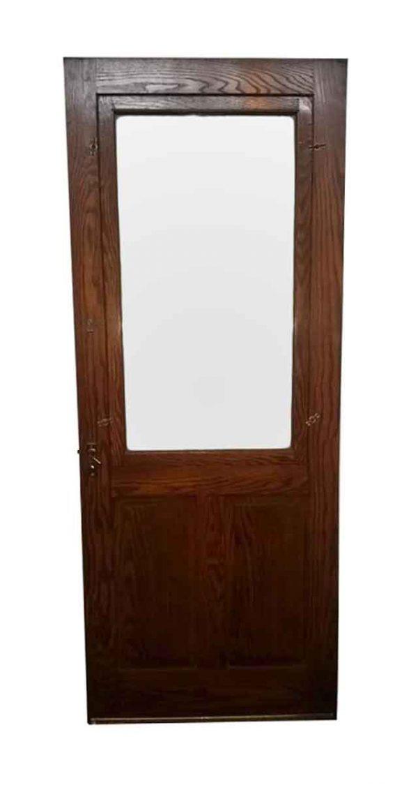 Entry Doors - Oak Storm Door