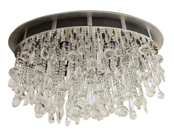 Flush & Semi Flush Mounts - Waldorf Astoria Flush Mount Crystal Light Fixture by Todd Rugee