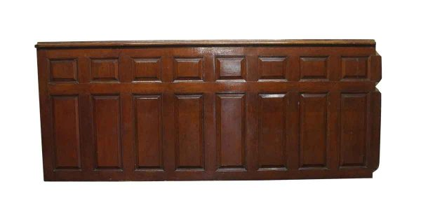 Paneled Rooms & Wainscoting - 4 Foot Raised Panel American Chestnut or Oak Wainscot