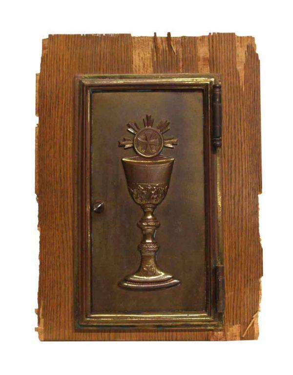 Religious Antiques - Cast Brass Altar Door
