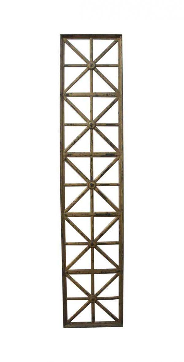 Specialty Doors - Art Deco Bronze Elevator Door
