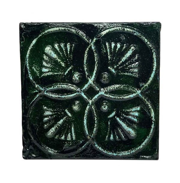 Tin Panels - Dark Green 4 Fold Tin Panel