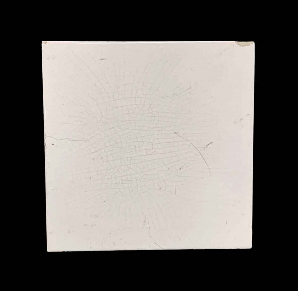 Wall Tiles - 6 x 6 Off White Crackled Wall Tile