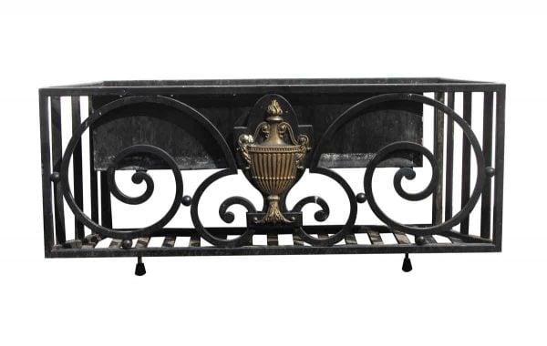 Balconies & Window Guards - Wrought Iron Window Garden Balcony with Georgian Detail