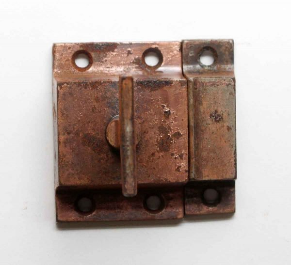 Cabinet & Furniture Latches - Antique Copper Finish Steel Cabinet Latch
