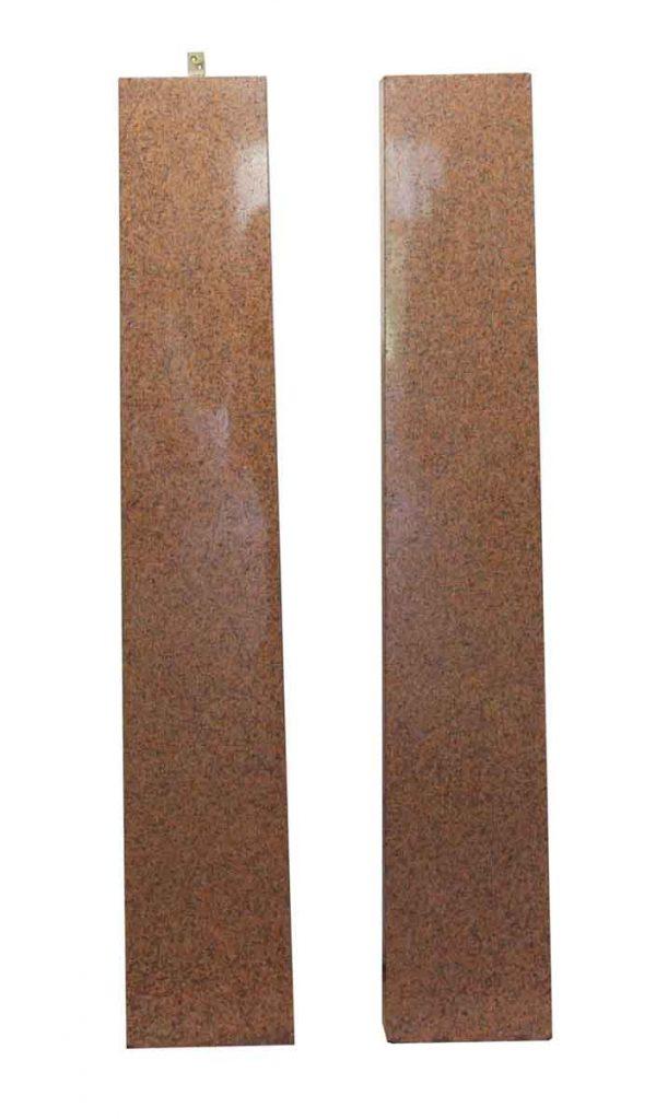 Columns & Pilasters - Pair of Rectangular Granite Column Pillasters
