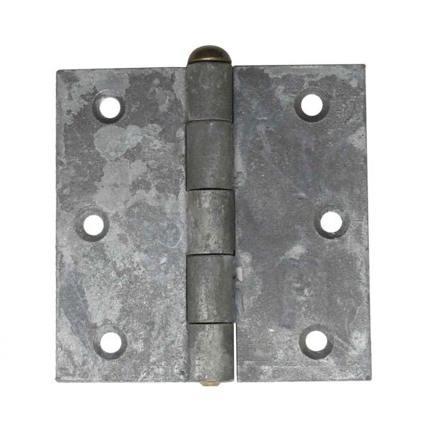 Door Hinges - 3.5 x 3.5 Butt Steel Vintage Door Hinge