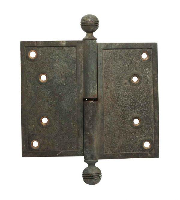 Door Hinges - 6 x 5 Bronze Butt Door Hinge with Ball Tips