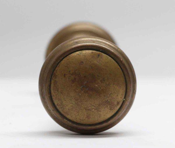 Door Knobs - Concentric Pair of Antique Brass Door Knobs