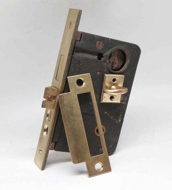 Door Locks - Lockwood Mortise Door Lock with Strike Plate & Turn Latch