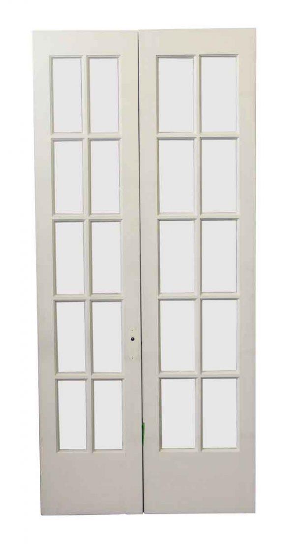 French Doors - Antique 10 Lite French Doors 84.25 x 38