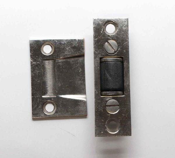 Other Cabinet Hardware - Vintage Nickel Door Tension Roller Catch