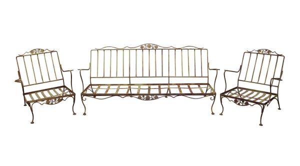 Patio Furniture - Wrought Iron Patio Furniture Set