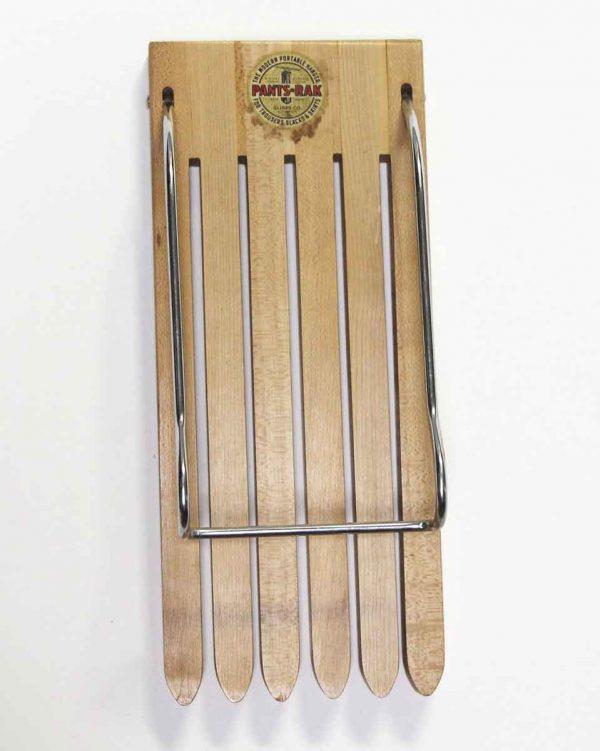 Personal Accessories - Vintage Wooden Portable Hanging Pants-Rak
