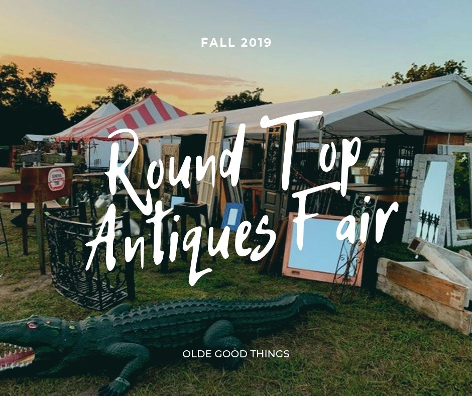 Tag: flea market | Olde Good Things Map Of Antique Places On Round Top Texas Route on