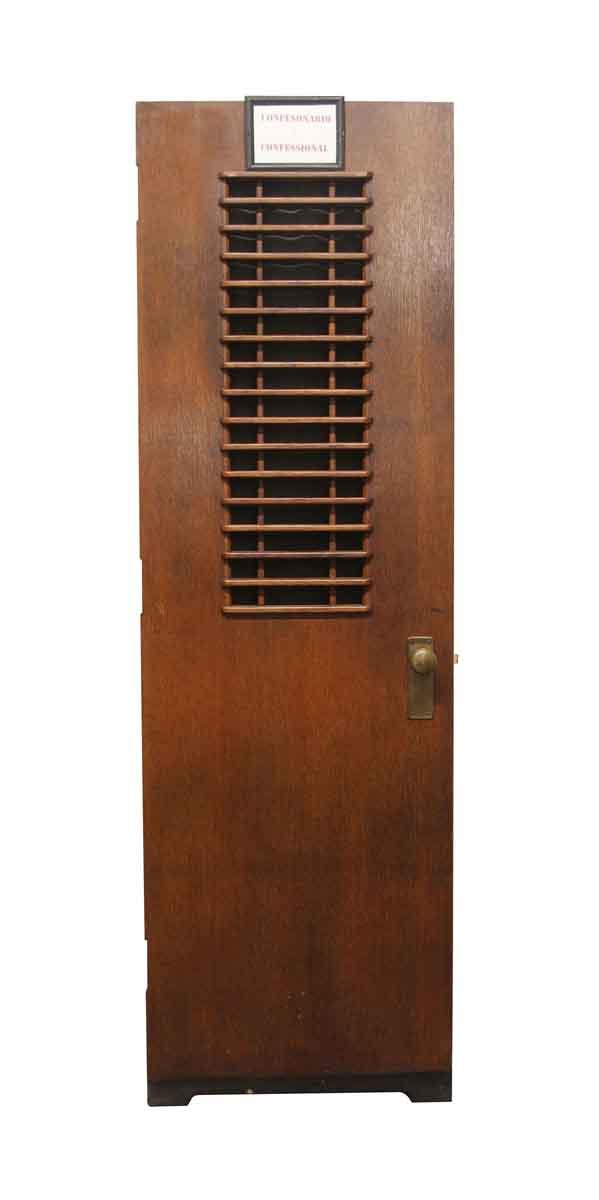 Specialty Doors - Confession Booth Door 84 x 26