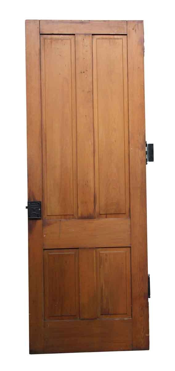 Standard Doors - Wood Four Panel Interior Antique Door 79.75 x 28.75
