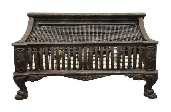 Tool Sets - Antique Cast Iron Ornate Fireplace Log Holder
