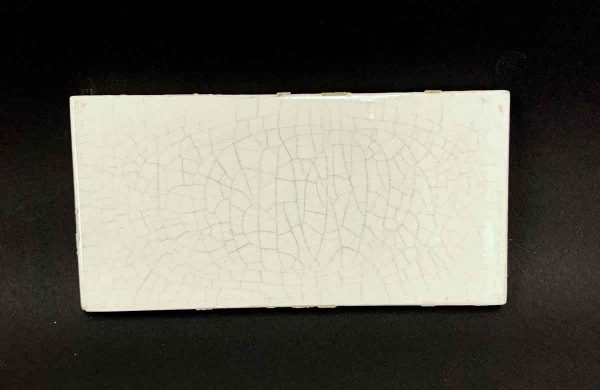 Wall Tiles - Antique Off White Crackle Finish 6 x 3 Subway Tile