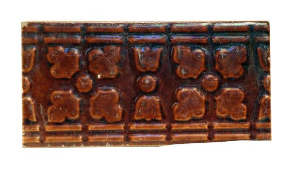 Wall Tiles - Brown Decorative Geometric Tile