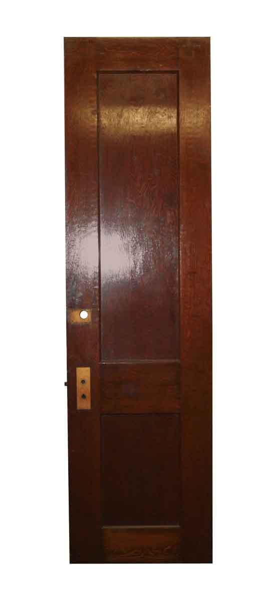 Commercial Doors - Mahogany Hall Antique Apartment Door 90.25 in. H x 23.75
