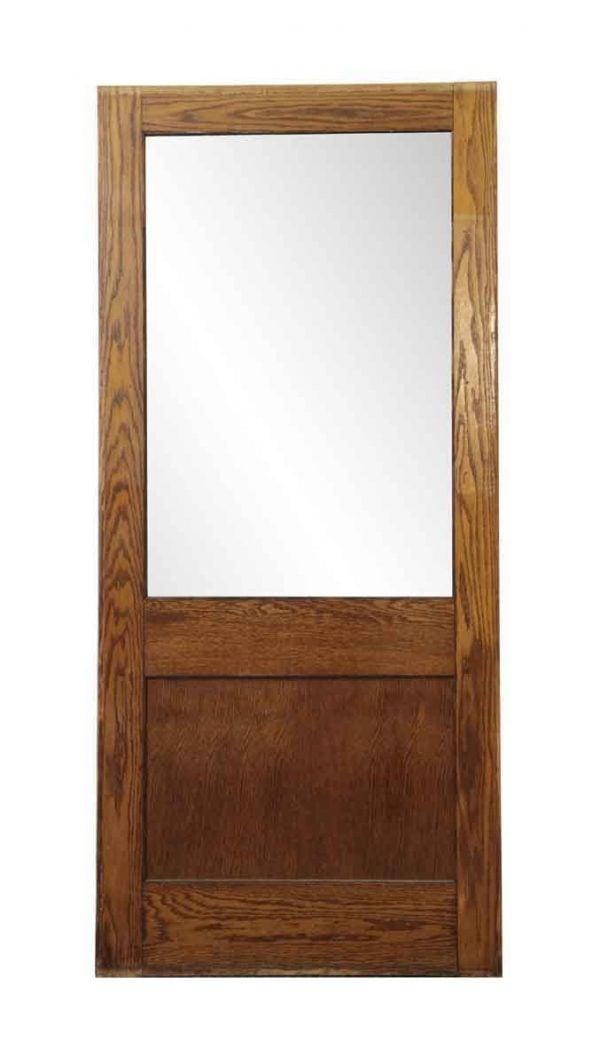 Commercial Doors - Vintage Half Lite Oak Office Door 83.75 x 37.75