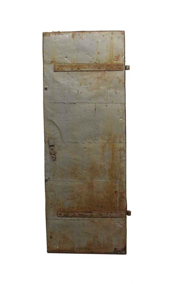 Commercial Doors - Vintage Steel Fire Commercial Door 75.5 x 27.5