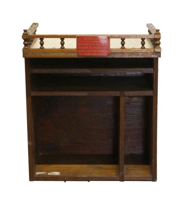 Commercial Furniture - Wooden Phone Booth Cabinet