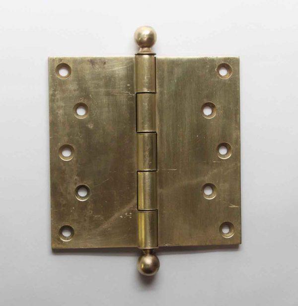 Door Hinges - Corbin Harvard Ball Tip Brass Butt 5 x 5 Antique Door Hinge