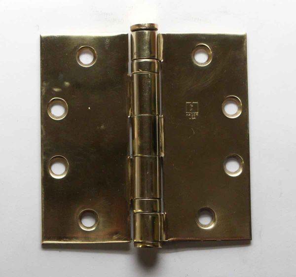 Door Hinges - Hager Brass Butt 4.5 x 4.5 Vintage Door Hinge