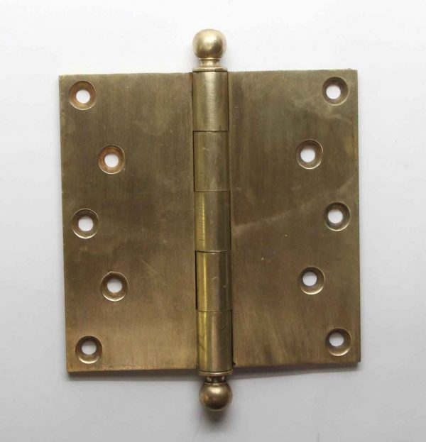 Door Hinges - Sargent & Co. Brass Butt 5 x 5 Antique Door Hinge