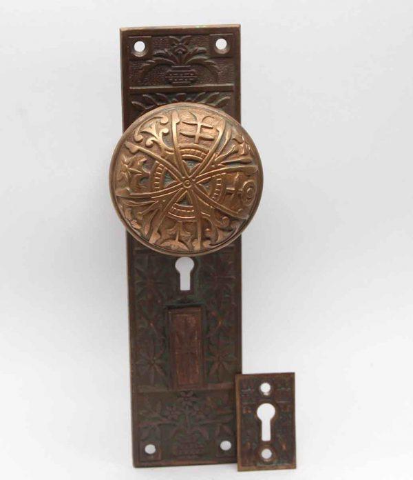 Door Knob Sets - Aesthetic Lockwood Brass Entry Door Knob Set