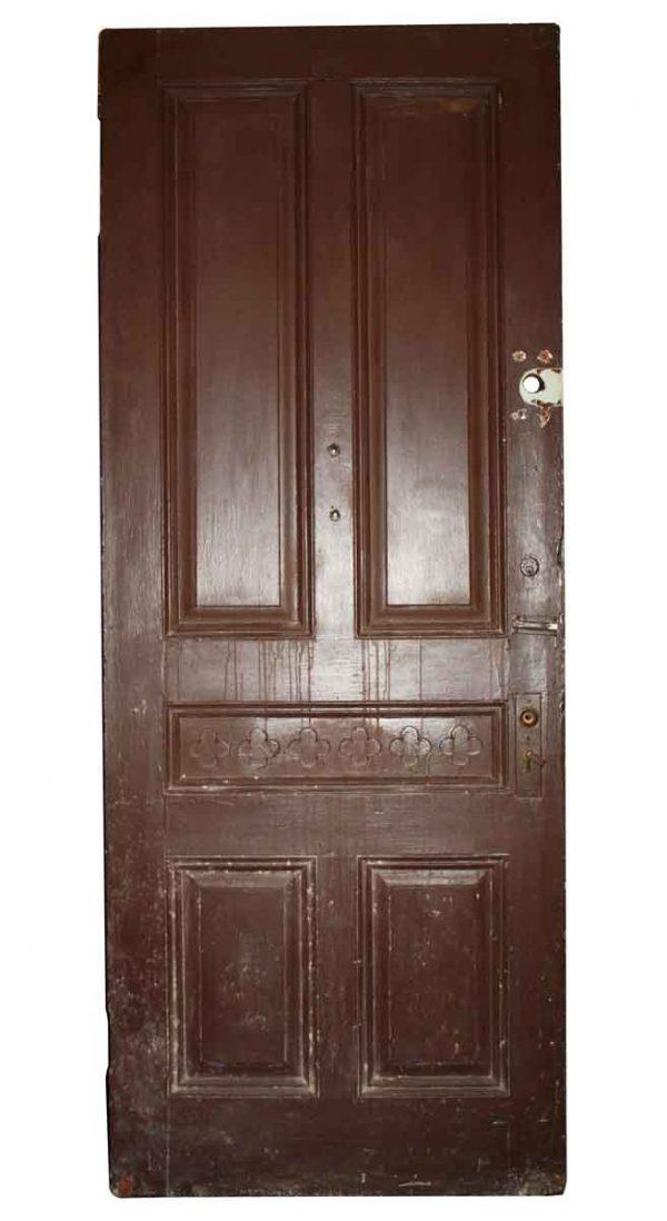 Entry Doors - Antique 5 Panel Entry Door 91 x 35.5