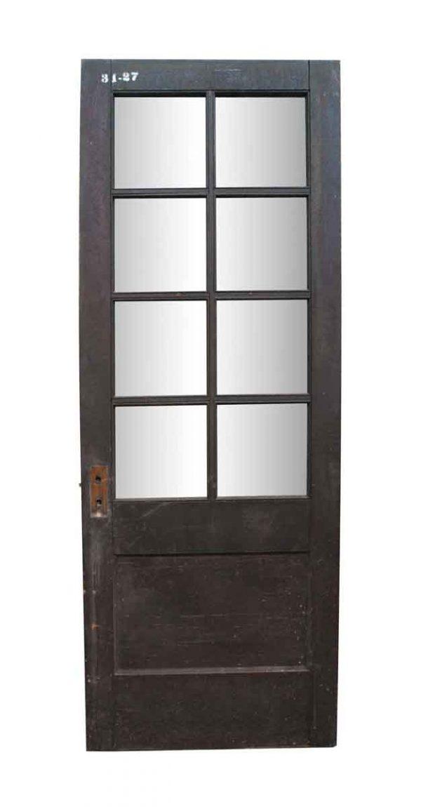 Entry Doors - Antique 8 Lite Passage Entry Door 85.5 x 35.75