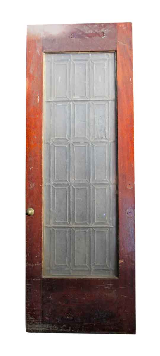 Entry Doors - Vintage Leaded Glass Entry Door 86 x 30
