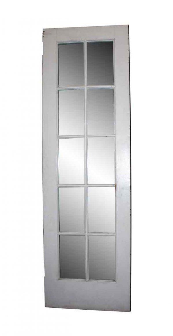 French Doors - Antique Metal Clad Mirrored French Door 97 x 30