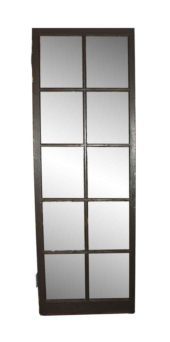 French Doors - Vintage French 10 Lite Passage Door 82 x 28.75