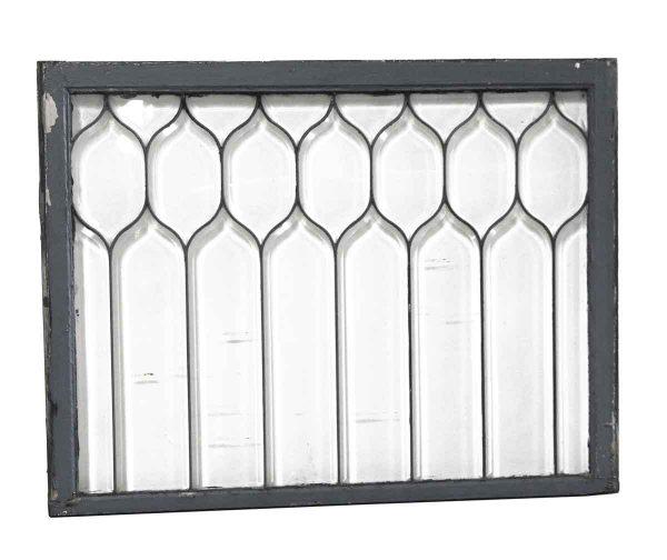 Leaded Glass - Antique 35.5 x 46 Leaded Window
