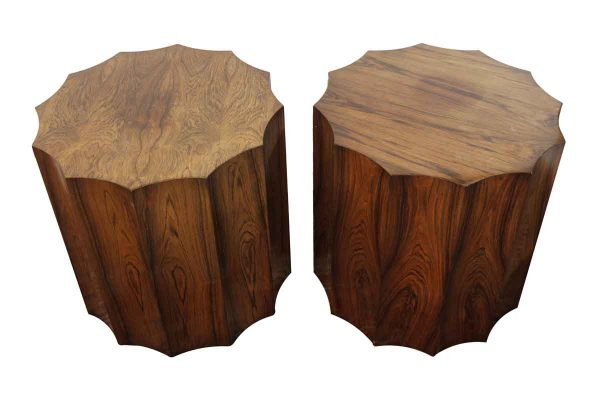 Living Room - Pair of Smith & Watson Rosewood Side Tables