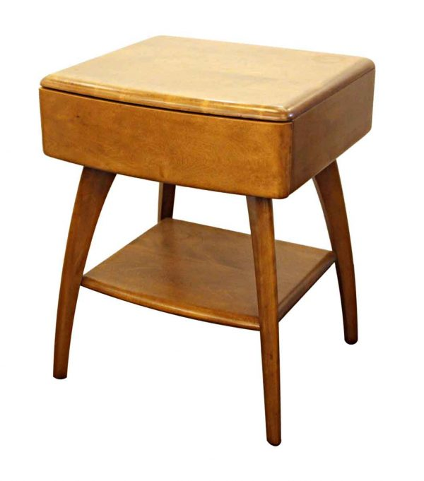 Living Room - Vintage Haywood Wakefield Maple Side Table