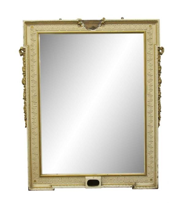 Overmantels & Mirrors - Waldorf Astoria Greek Key Mirror