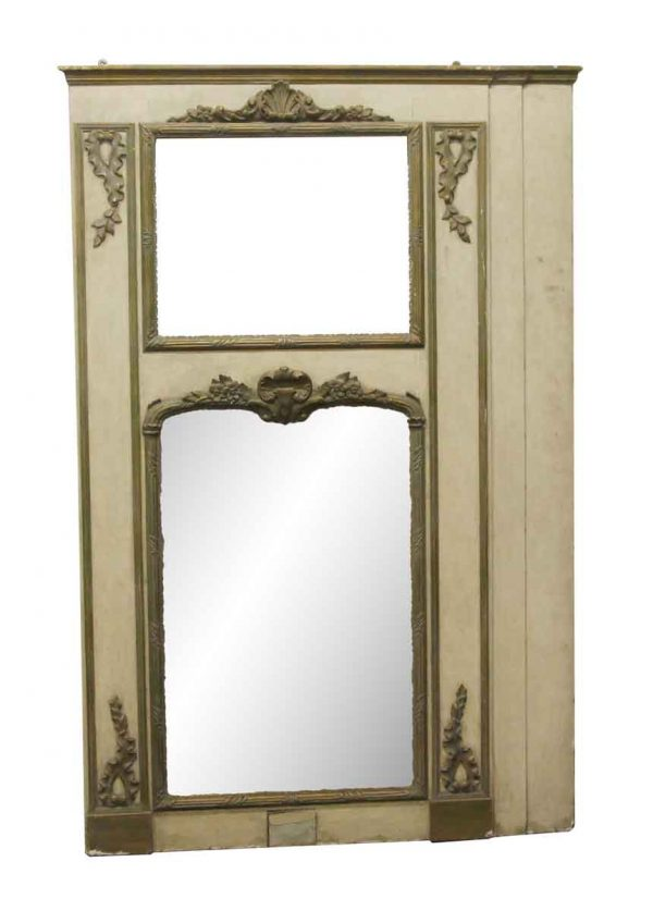 Overmantels & Mirrors - Waldorf Astoria Mirror with Carved Detail